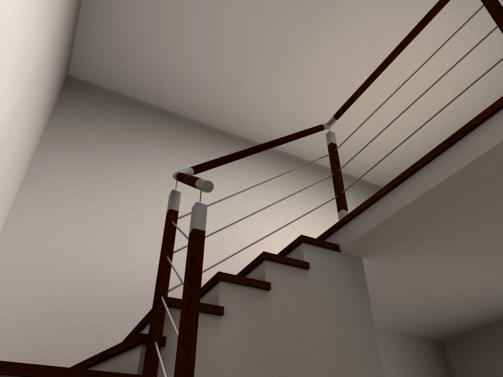 Projekt balustrady